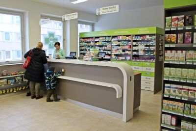V Hornické poliklinice v Ostravě otevřeli zmodernizovanou lékárnu