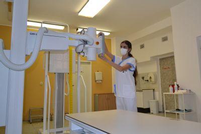 Nový rentgen na AGEL Hornické poliklinice výrazně zrychlil provoz, nově umožní provádět speciální ortopedická vyšetření